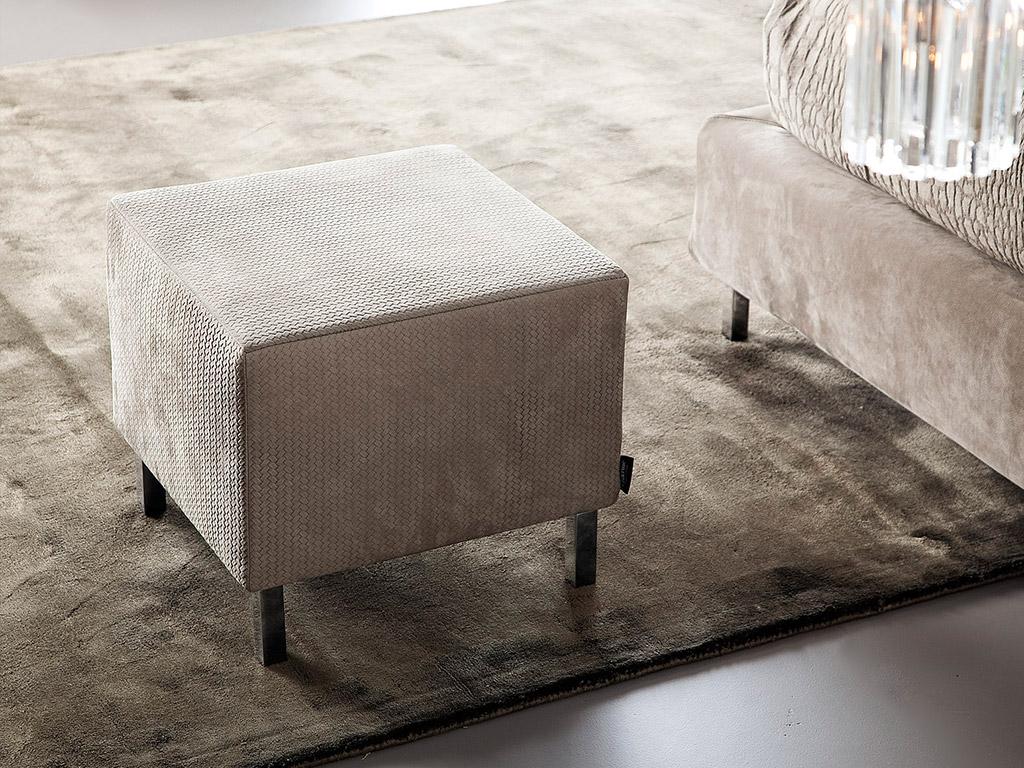 Pouf design Dakota - Idee arredamento camera da letto - Chaarme