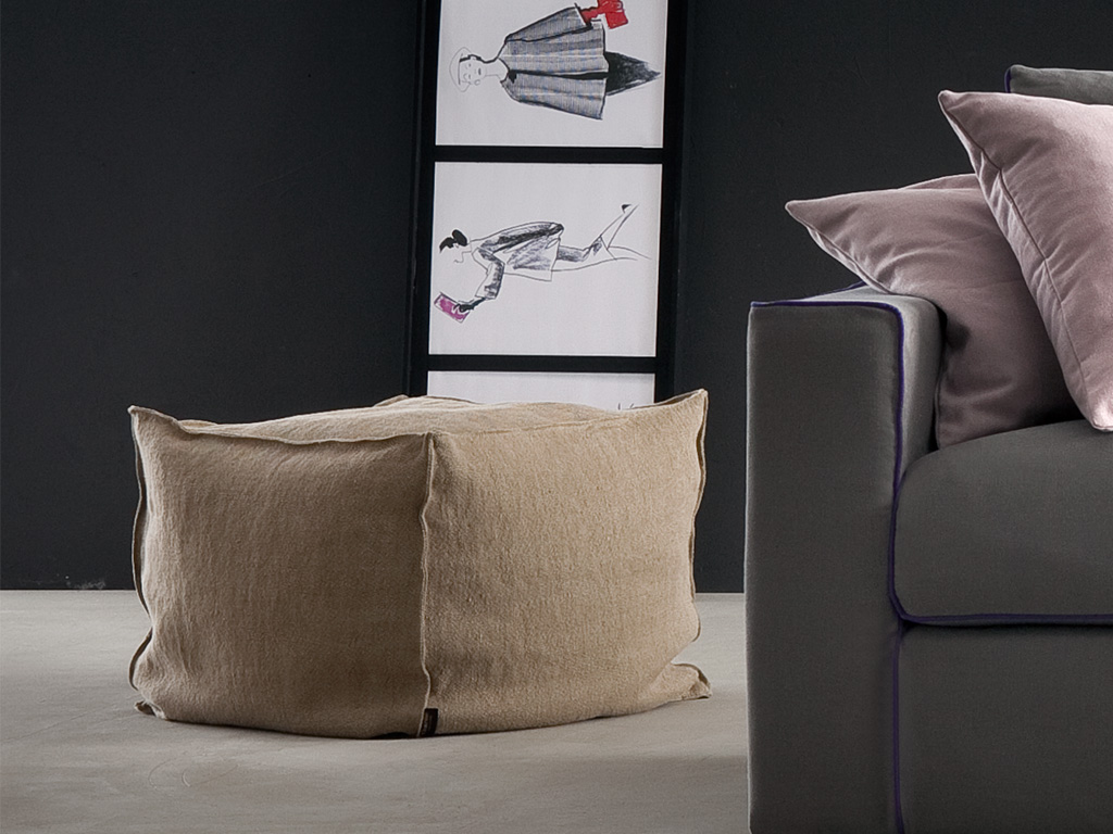Calypso Soft pouf - Ideas to furnish your home - Chaarme